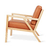 Gus Modern Gus* Modern Truss Chair Accent Vegan Leather Appleskin