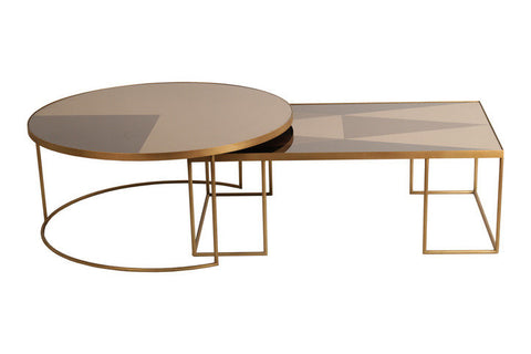 Geometric Coffee Tables - Design Distillery