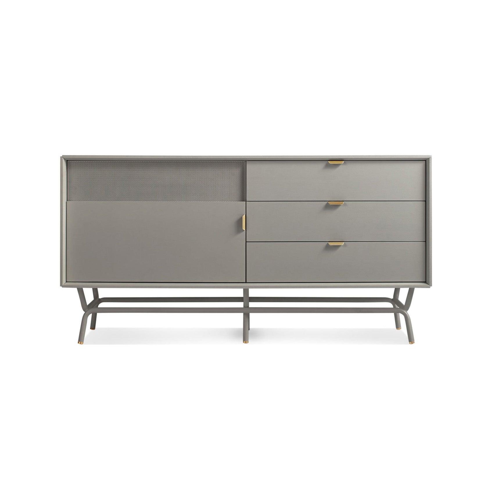 Dang 1 Door/3 Drawer Console