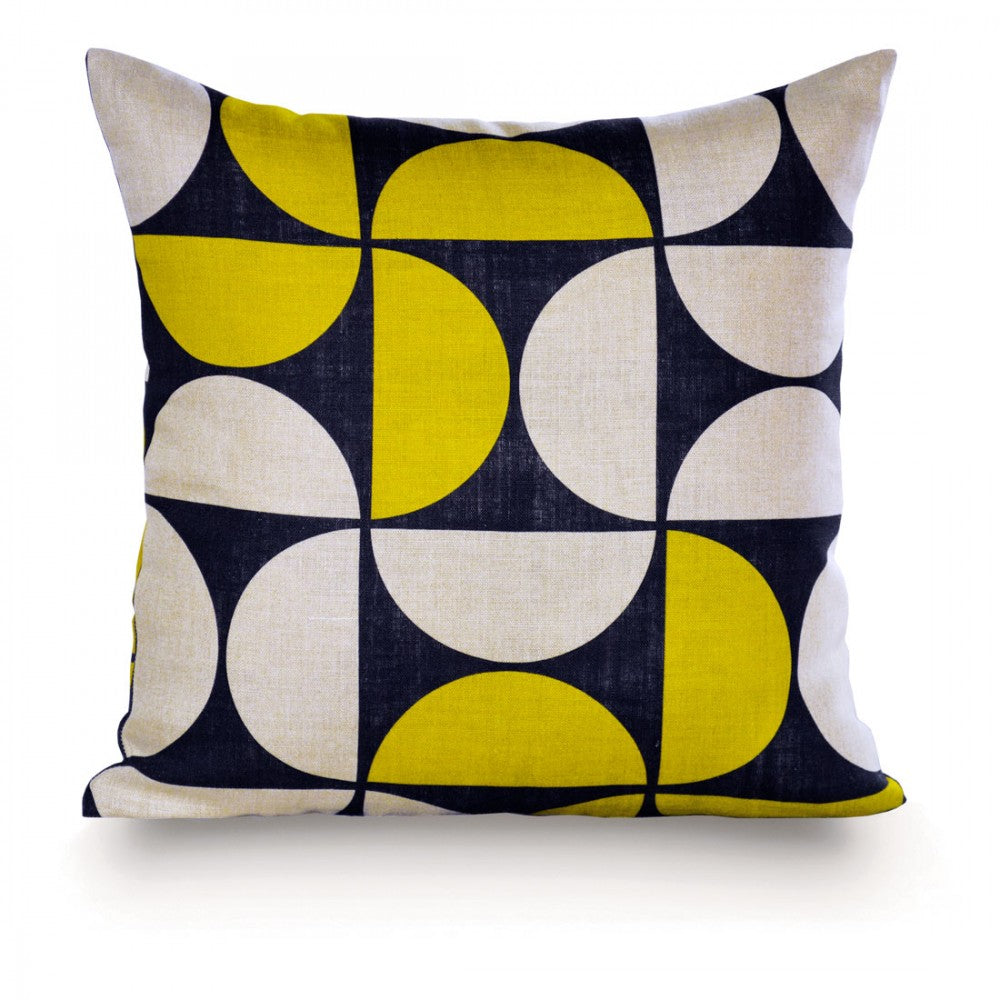 Harwich Yellow Pillow - Design Distillery