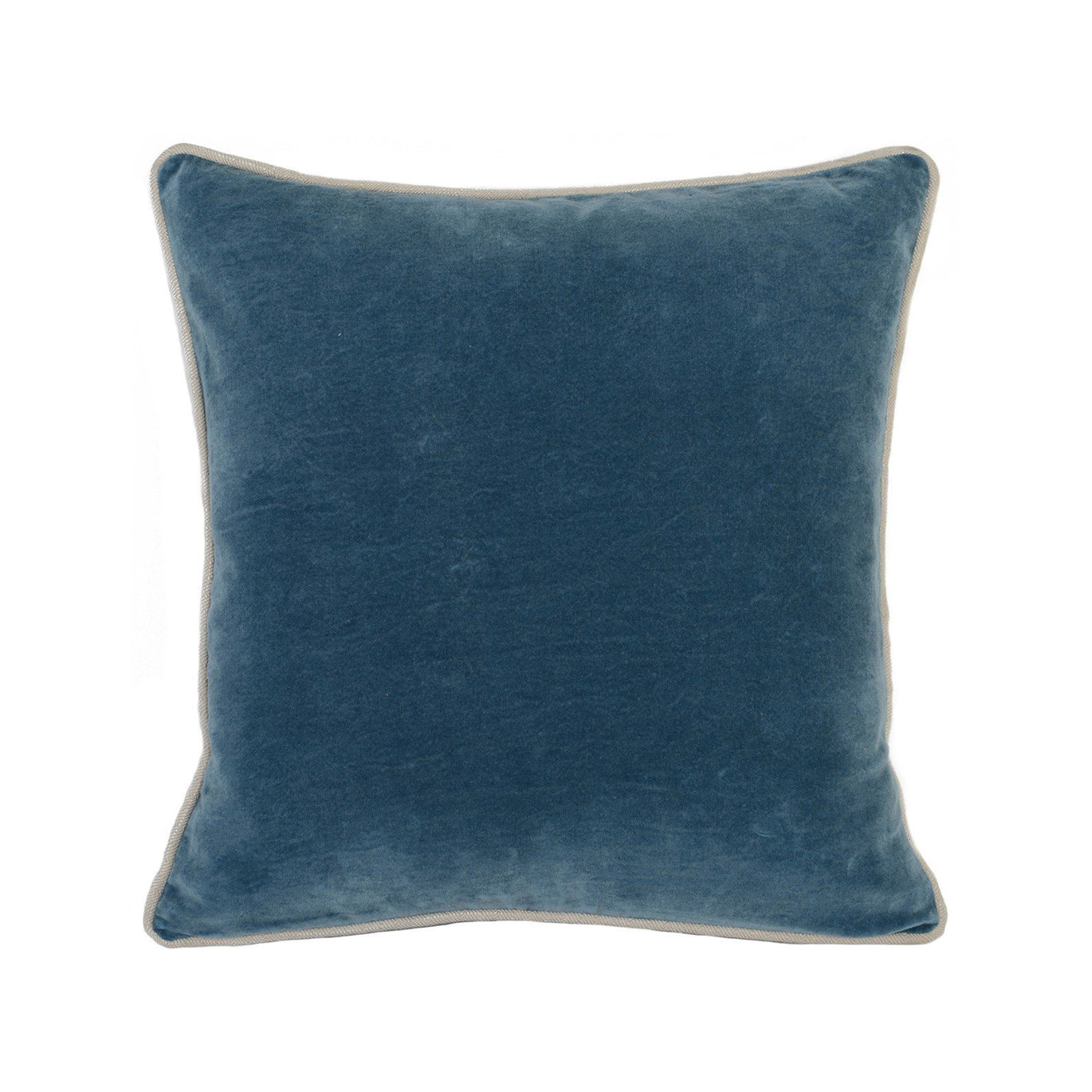 Marine Velvet Pillow - Design Distillery
