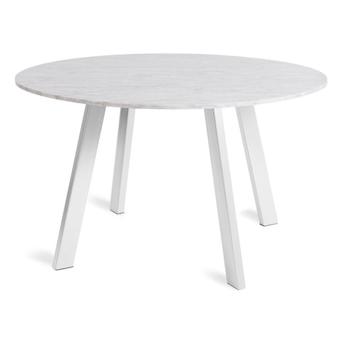 Right Round Marble 52'' Dining Table - Design Distillery