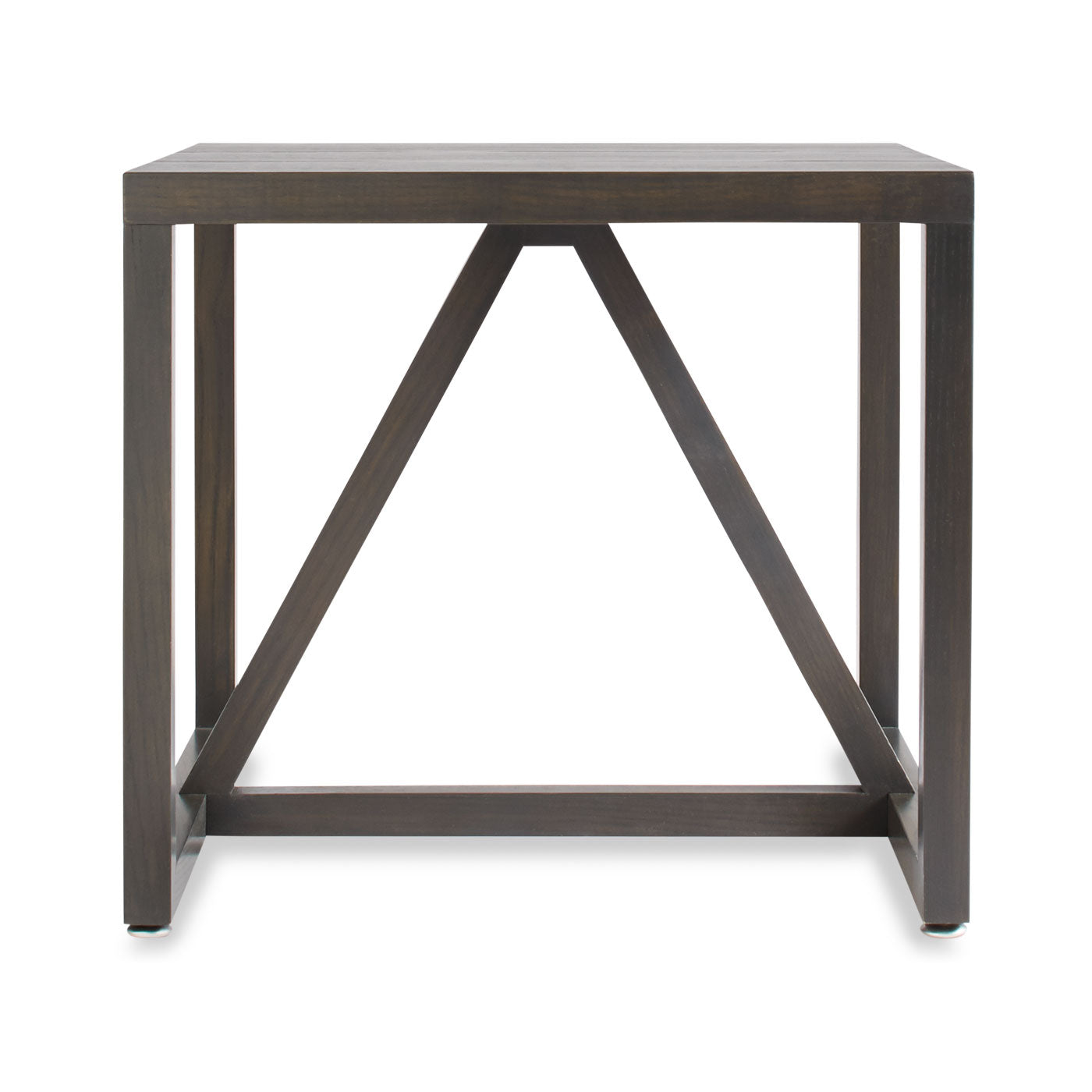 Strut Wood Side Table - Design Distillery