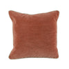 Terra Cotta Velvet Pillow - Design Distillery
