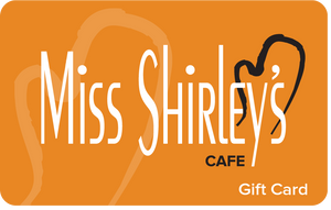$15 Miss Shirley's Cafe Gift Card