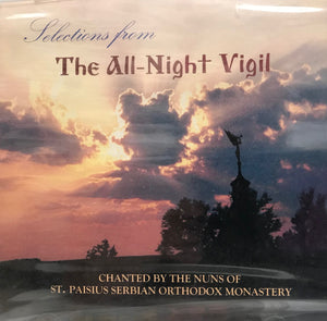 Selections from All-Night Vigil - CD