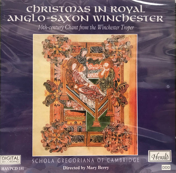 Anglo-Saxon Christmas Music - CD