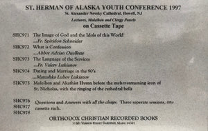 1997 St. Herman's Conference Lectures - Cassette