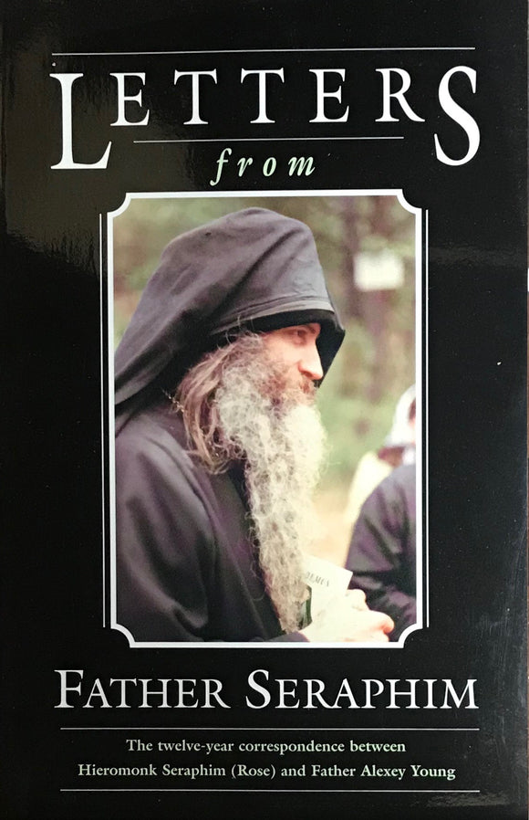 Letters from Fr. Seraphim