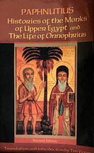 Histories of the Monks of Upper Egypt, & the Life of St. Onuphrius pb