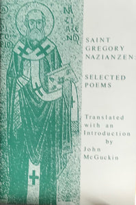 Selected Poems - St. Gregory Nazianzen