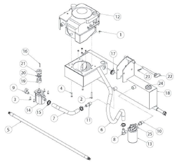Speeco 22 Ton Log Splitter Parts Diagram 40123300