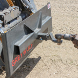 "Grey Wolf Skid Steer 2"" Reciever Hitch Plate (1061)"