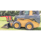 Grey Wolf Skid Steer Double Quick Attach Grapple (1066)