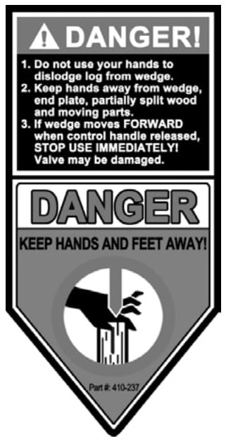 (410-237) Danger Decal