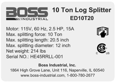 (410-533) Boss Specs Decal