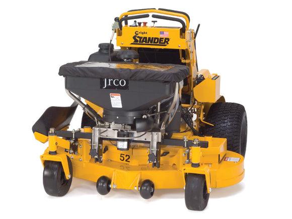JRCO Broadcast Spreader for Walk-Behind and Stand-On Mowers (504)