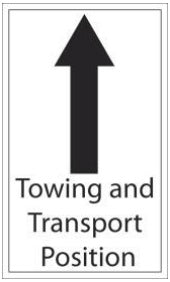 (784079) Decal, Tow Position