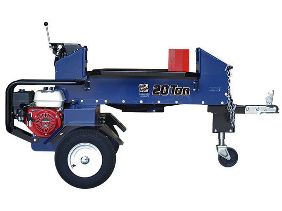 Iron & Oak 20 Ton Horizontal Dual Splitting Log Splitter BH2W2016GX