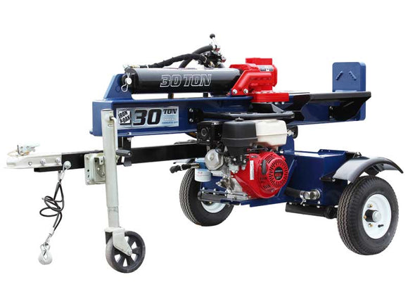 Iron & Oak 30 Ton Vertical / Horizontal Log Splitter w/ Torsion Axle (BHVH3018GXT)