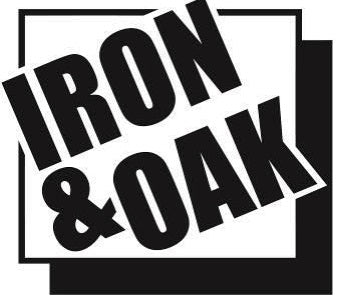 (BR002499) DECAL - IRON & OAK LOGO