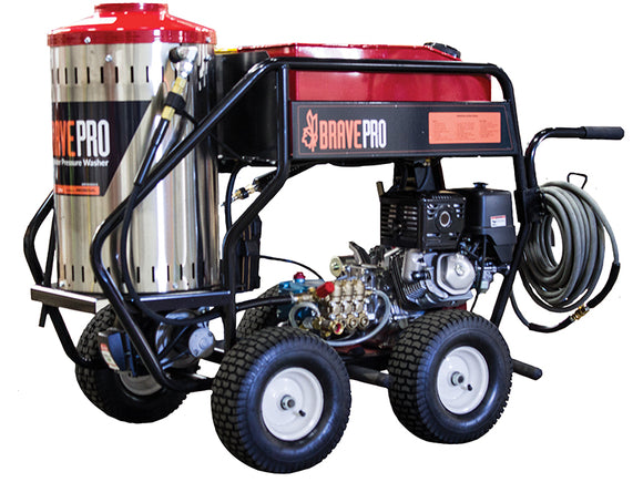 Brave 3000 PSI, 4.0 GPM Hot Water Pressure Washer w/ GX390 (BRP4030HCA)