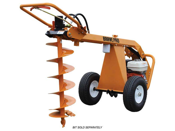 BravePro Towable Auger w/ 7/8