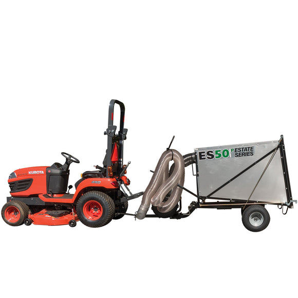 PECO Estate Series ES50P 50 Cubic Foot Trailer Pasture Vac w/ 10hp Briggs & Stratton Vanguard (805005)