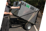 PECO Estate Series ES36 36 Cubic Foot Trailer Lawn Vac w/ 6.5hp Briggs & Stratton Vanguard (793603)