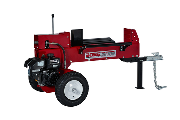 Boss Industrial 20 Ton Horizontal Dual Action Log Splitter (GD20T24)