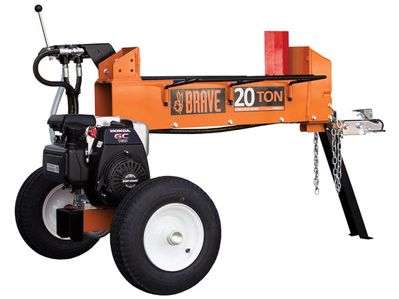 Brave 20 Ton Two-Way Horizontal Log Splitter PCLS2013GC