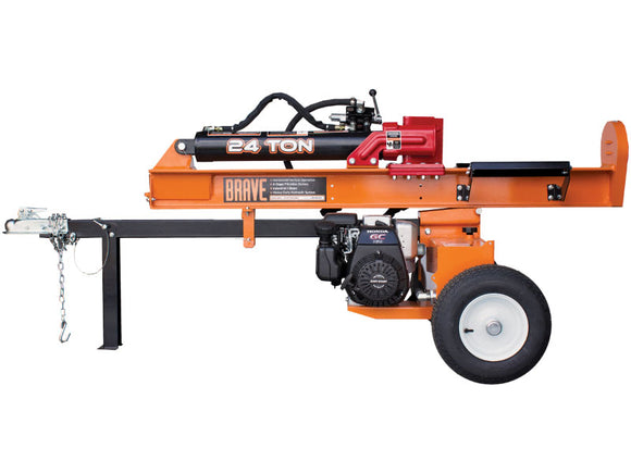 BravePro 24 Ton Vertical / Horizontal Log Splitter VH1724GC