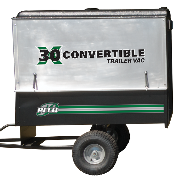 PECO X30 30 Cubic Foot Trailer Lawn Vac w/ 6.5hp Briggs & Stratton Vanguard (7930)