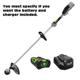 "Ego Power Plus 15"" Straight Shaft String Trimmer w/ Rapid Reload Head (ST1500F)"