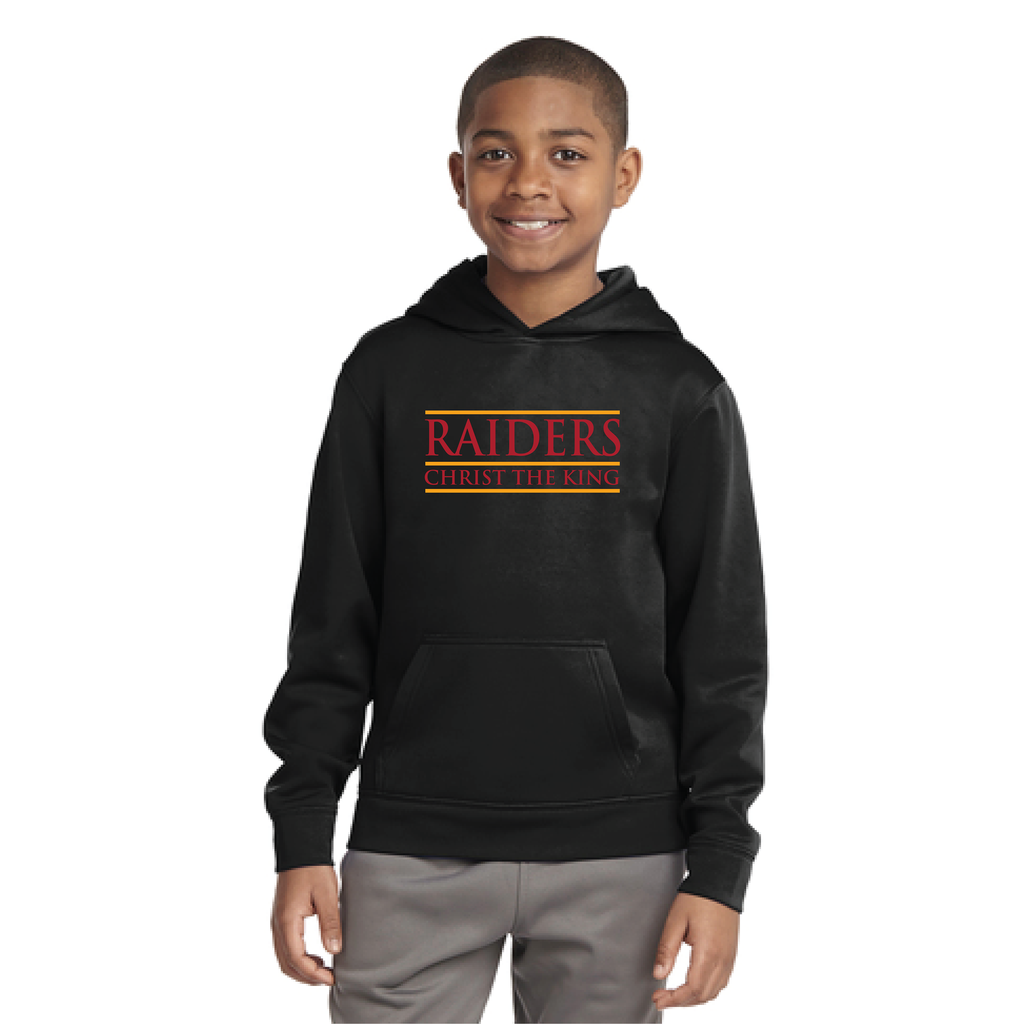 Sport-Tek® Sport-Wick® Fleece Hooded Pullover (Youth)