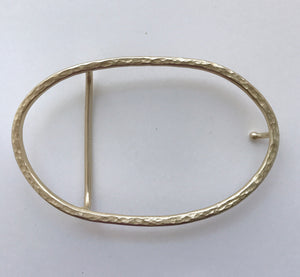 The Oval Buckle