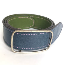 Men's Hand Sewn Lined and Reversible Belt