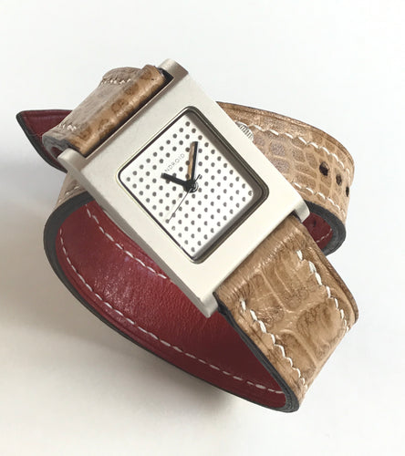 Ladies Custom Double Wrap Watch Band