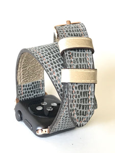 Ladies Custom Double Wrap Watch Band (also available for Apple Watch)