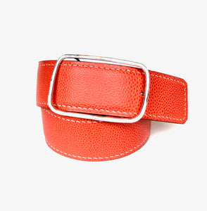 Women's Hand Sewn Lined and Reversible Belt