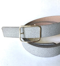 Women's Lined and Reversible Belt- 1 inch