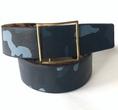 Women's Lined and Reversible Belt
