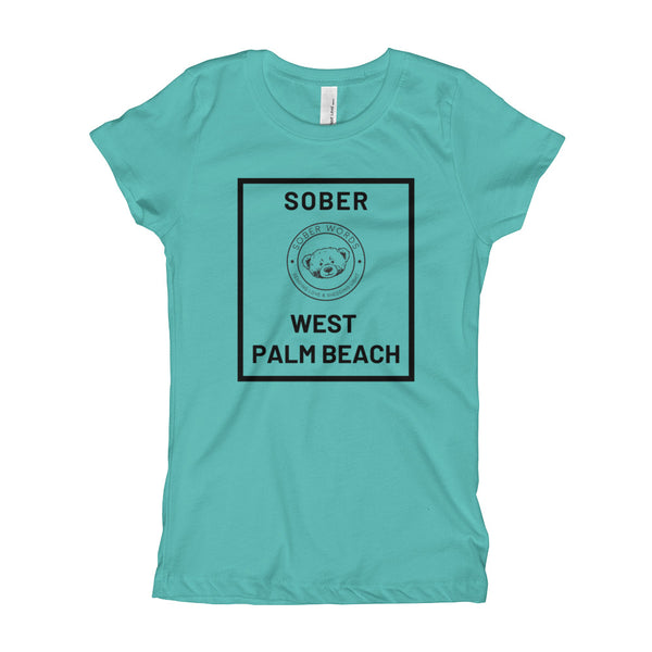 Sober West Palm Beach Girl's T-Shirt