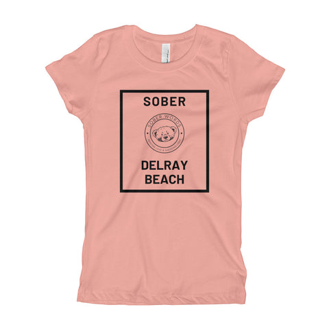 Sober Delray Beach Girl's T-Shirt