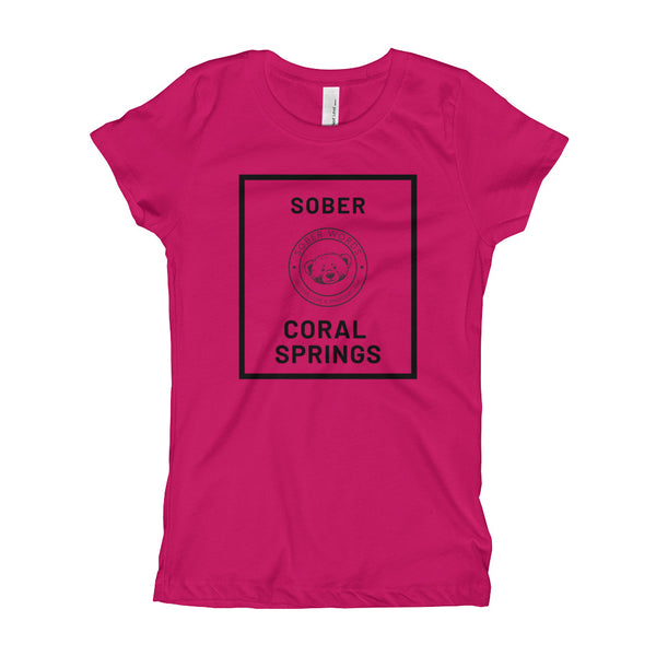 Sober Coral Springs Girl's T-Shirt
