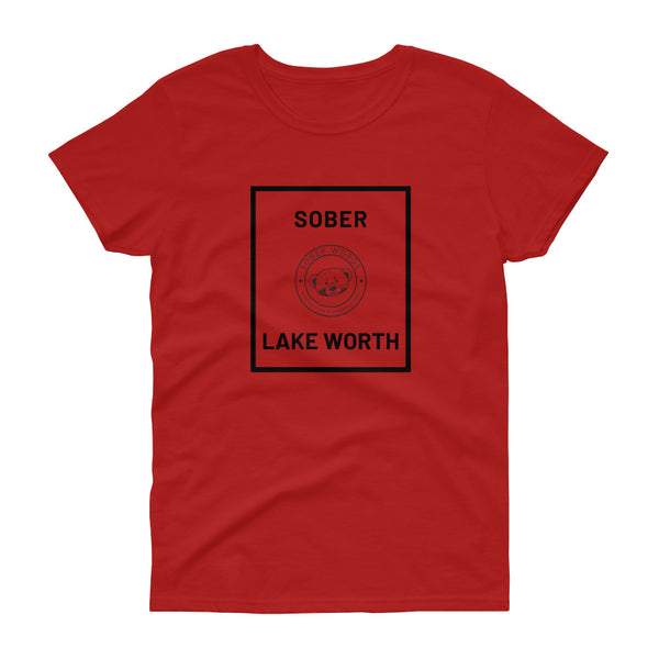 Sober Lake Worth Women's t-shirt