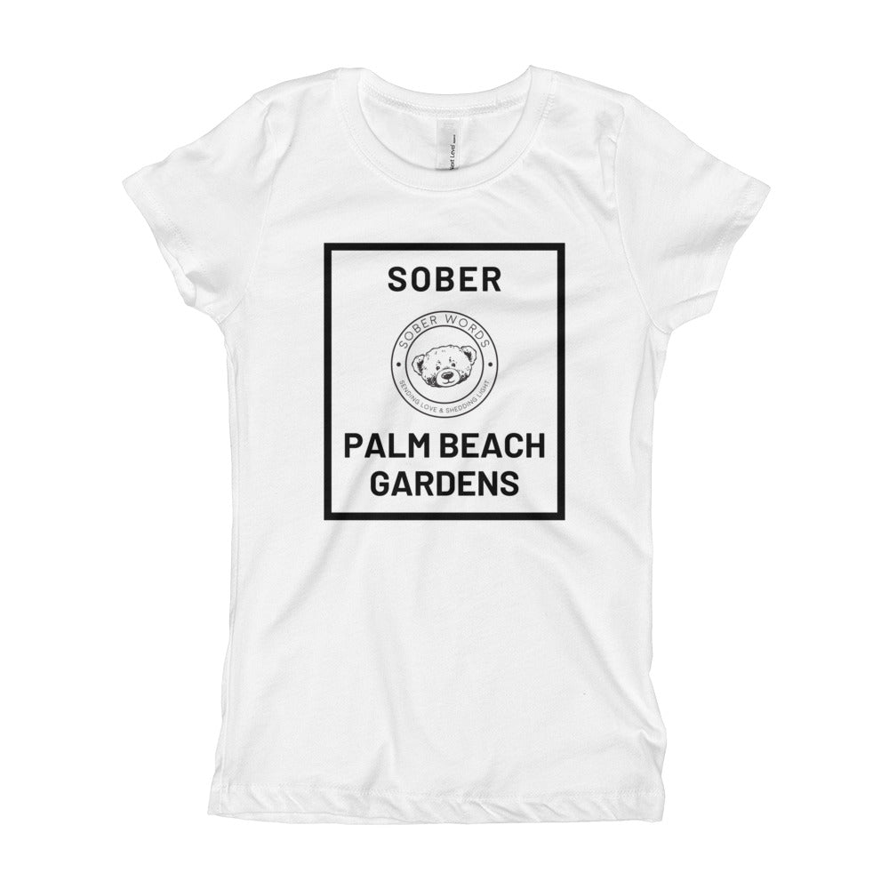 Sober Palm Beach Gardens Girl's T-Shirt