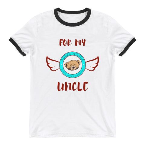 Uncle/Angel Wings Ringer T-Shirt