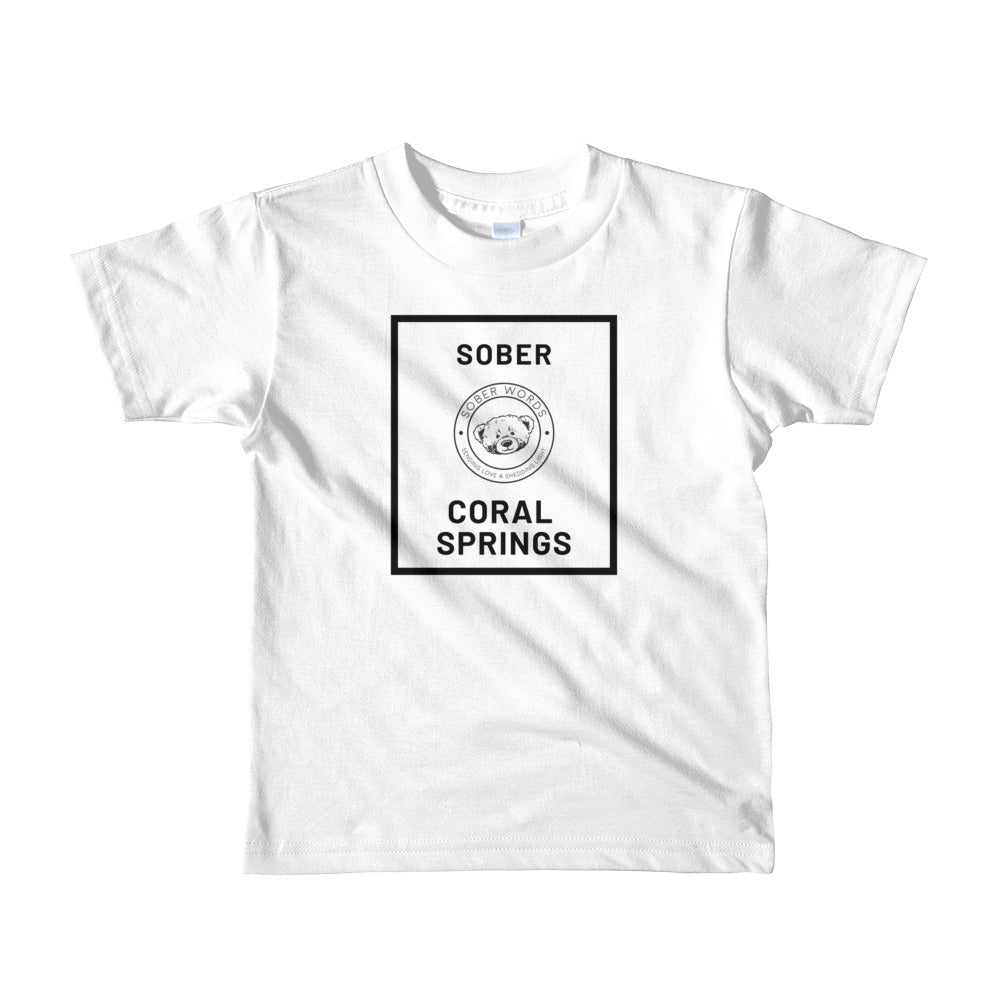 Sober Coral Springs Short t-shirt