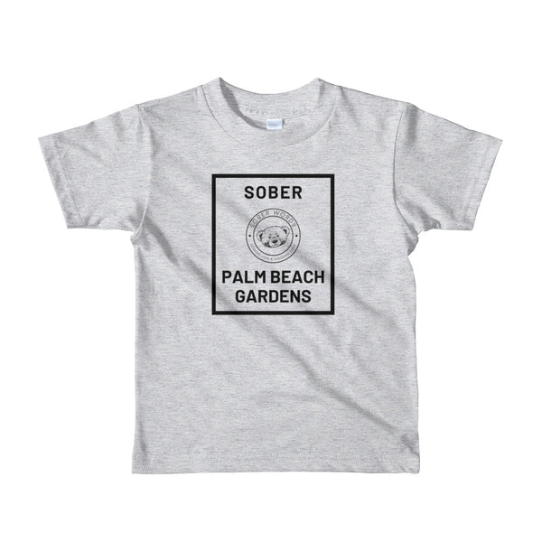 Sober Palm Beach Gardens kids t-shirt